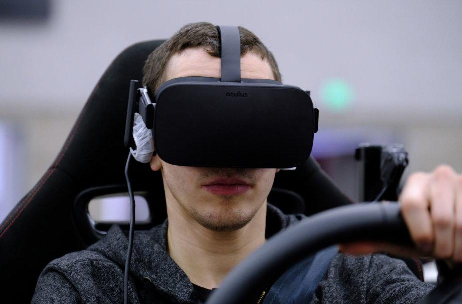 "Virtualios realybės akiniai ""Oculus Rift"""