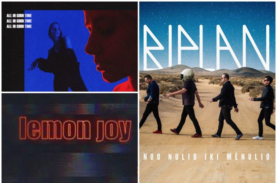 Angelou, Biplan ir Lemon Joy albumų viršeliai