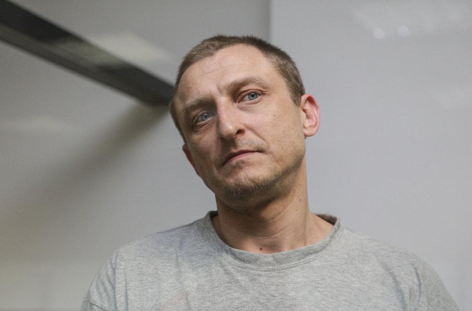 Oleksandras Cariučenko teisme
