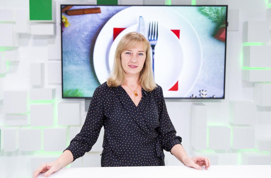 15min studijoje – gydytoja dietologė Edita Gavelienė