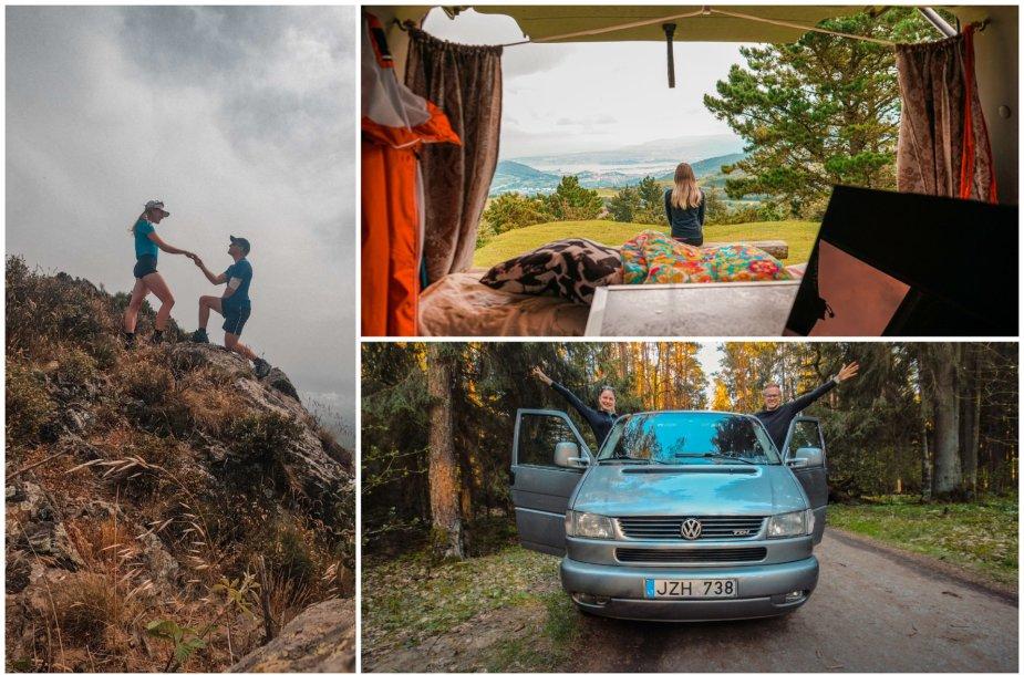 """Gabijos ir Tomo kelionė į Ispaniją su 1997 m. """"VW Caravelle"""""""