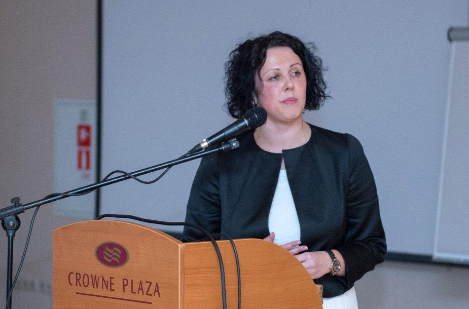 LFSF generalinė sekretorė Agnė Vanagienė