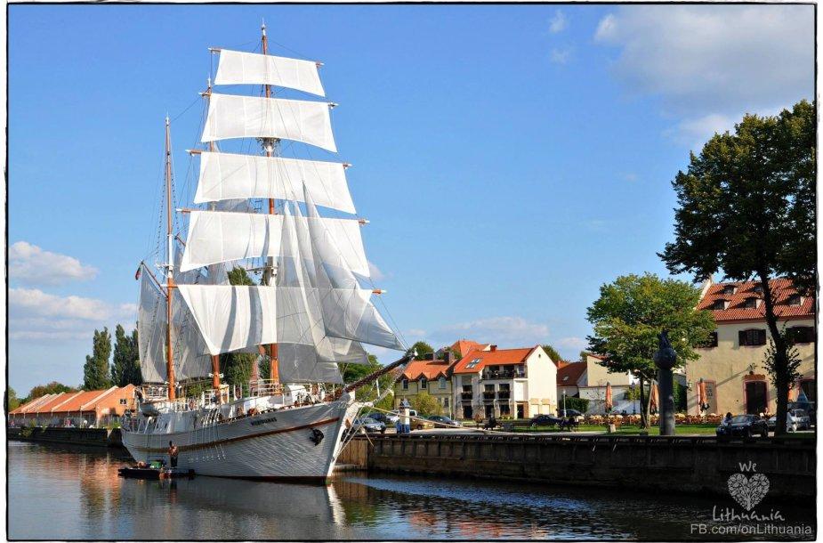 Laivas Klaipėdoje