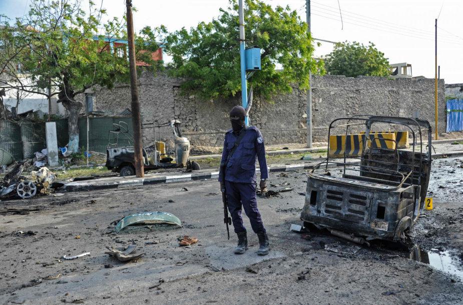 Somalio sostinėje Mogadiše pagrobta vokietė
