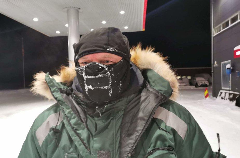 Vygintas Ušinskas kelionėje iki Nordkapo