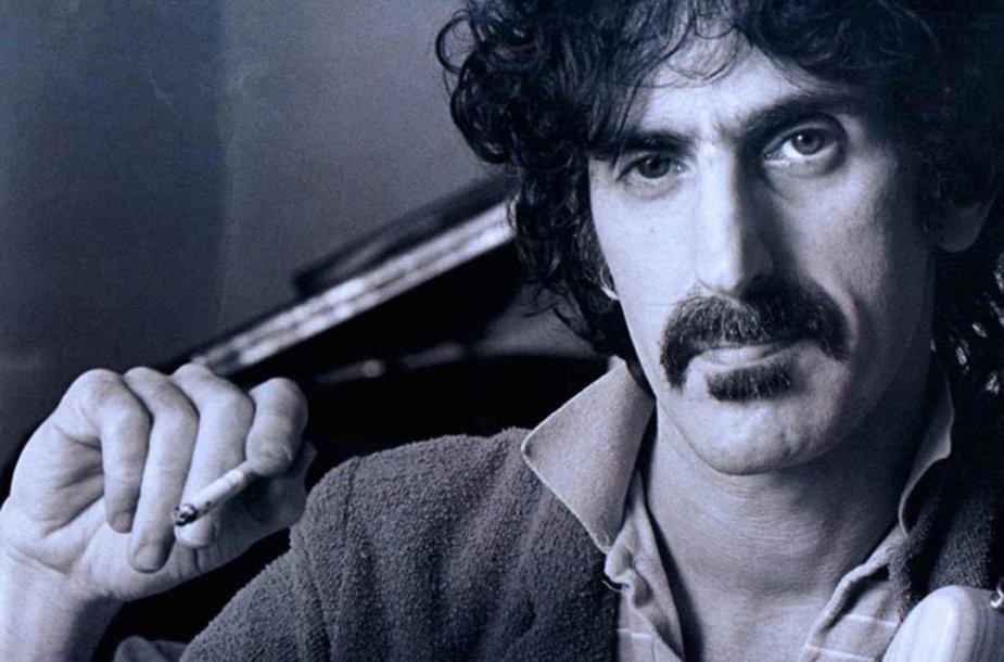 """Kadras iš filmo """"Frankas Zappa apie save"""""""