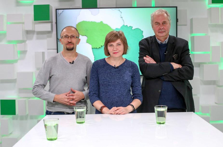 Piotras Rudkouskis, Alvydas Nikžentaitis ir Violeta Grigaliūnaitė