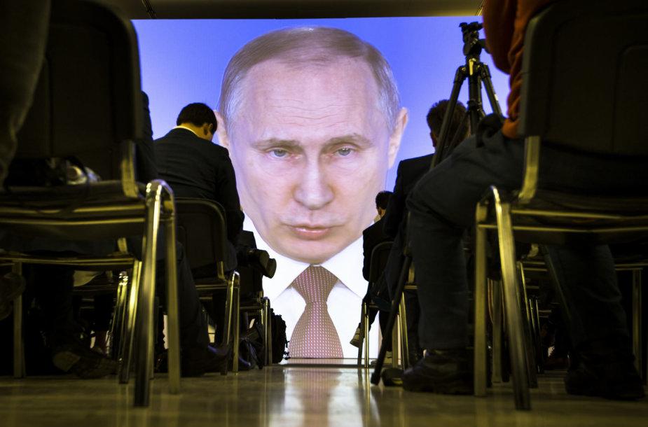 V.Putino metinis pranešimas
