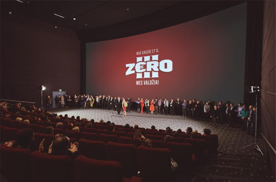 """""""Zero III"""" premjeros akimirka"""