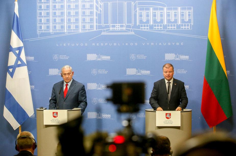Dvišalis Lietuvos Respublikos ir Izraelio Valstybės delegacijų susitikimas
