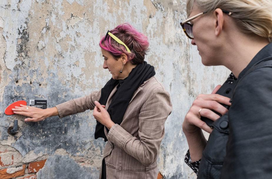 Atrasti Kauno bienalės objektus padės ne tik žemėlapis, bet ir specialus žymėjimas