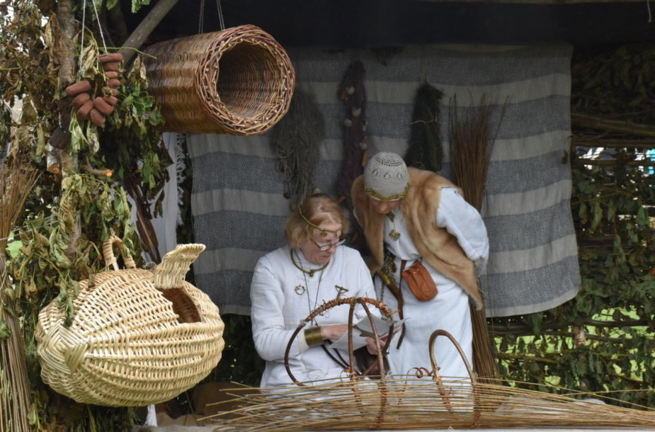 Kuršių nerijoje savaitgalį bus demonstruojami senieji amatai.