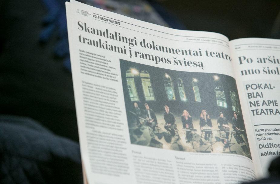 78-ojo Lietuvos nacionalinio dramos teatro sezono spaudos konferencija