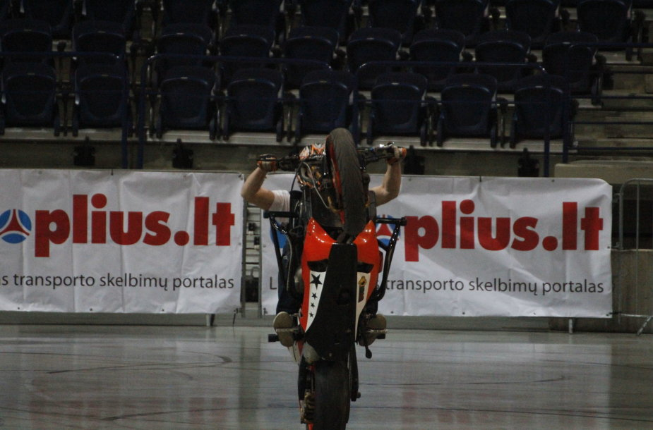 """Stunt Eurocup"" varžybų Vilniuje treniruotė"