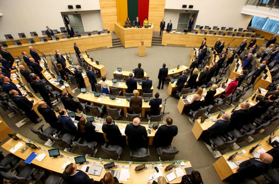 Seimo plenarinio posėdžio pradžia
