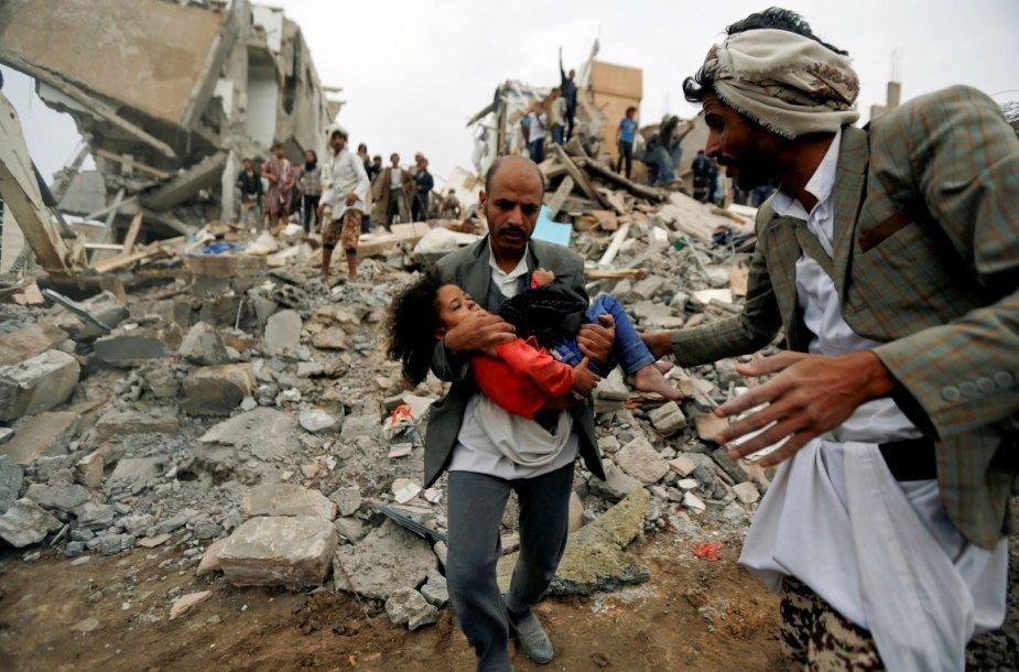 Po antskrydžio Jemene
