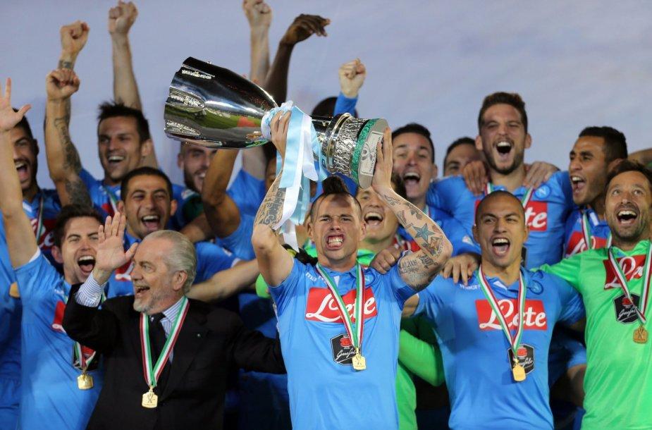 """Napoli"" ekipa iškovojo Italijos supertaurę"