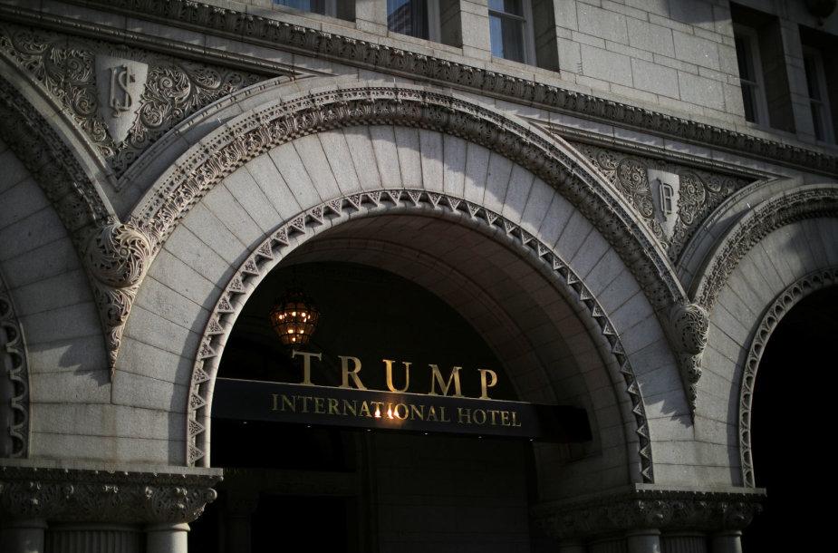 D.Trumpo viešbutis Vašingtone