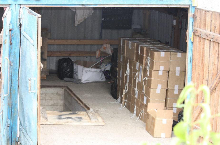 Šalčininkų rajone pareigūnai aptiko 200 tūkst. eurų vertės kontrabandą