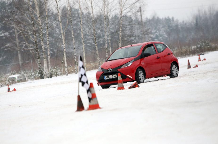 Žiemos vairavimo aikštelės pristatymas