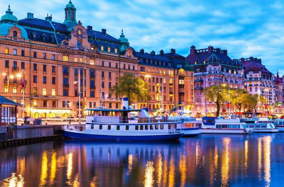 Stokholmas, Švedija