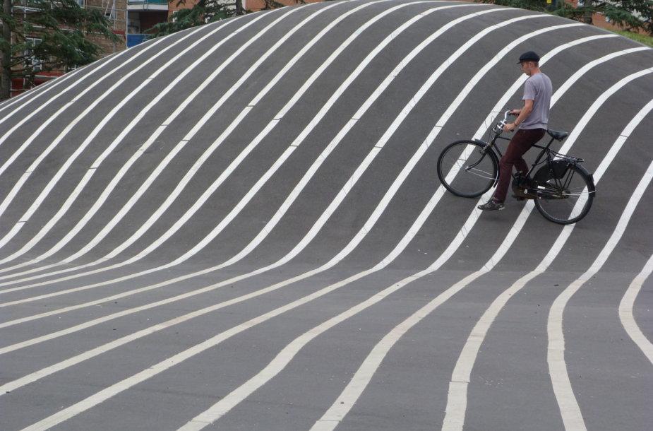 """Superkilen"" parkas Kopenhagoje"