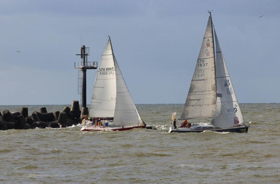 Šį savaitgalį – paskutinė rudens jūrinė regata.