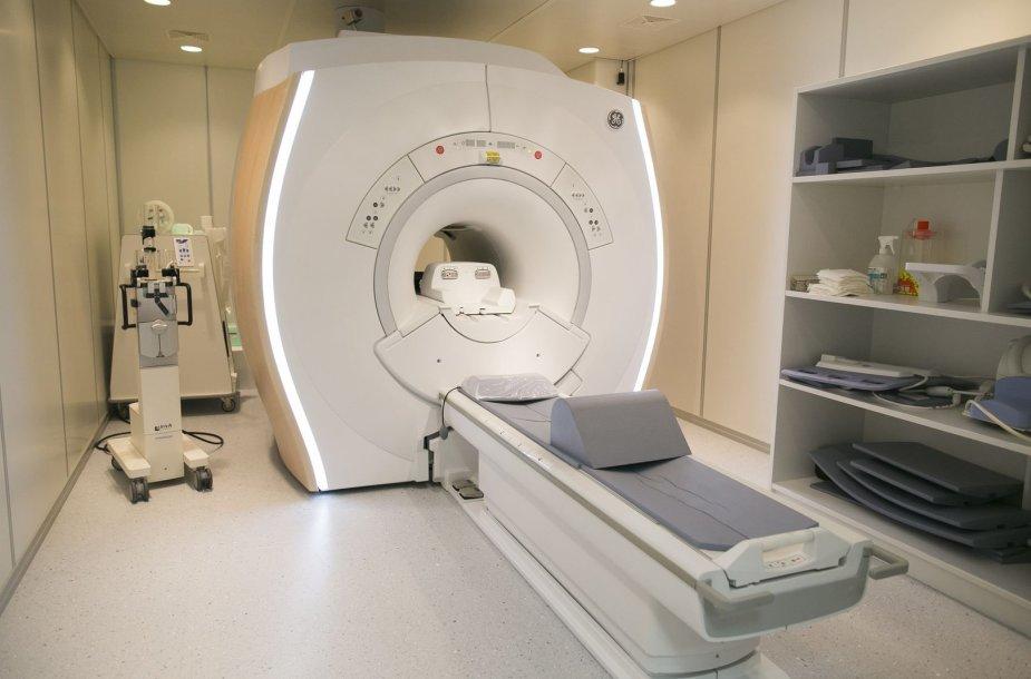 Centro poliklinikoje – naujas tomografas