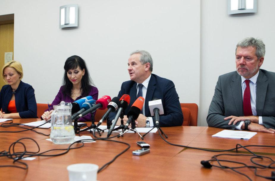 Aplinkos ministras Kęstutis Trečiokas
