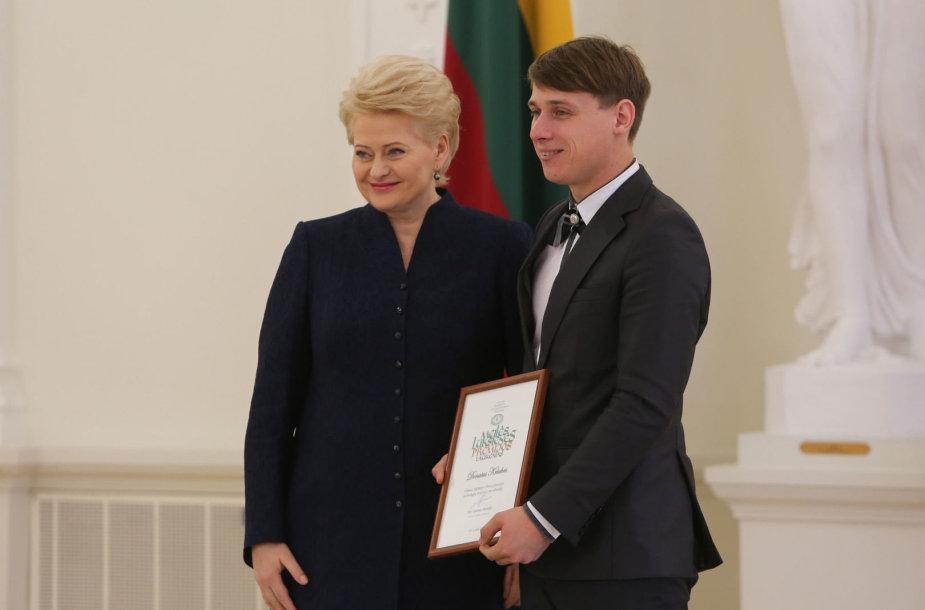 Dalia Grybauskaitė ir Donatas Kriukas