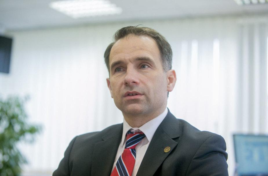 Energetikos ministras Rokas Masiulis