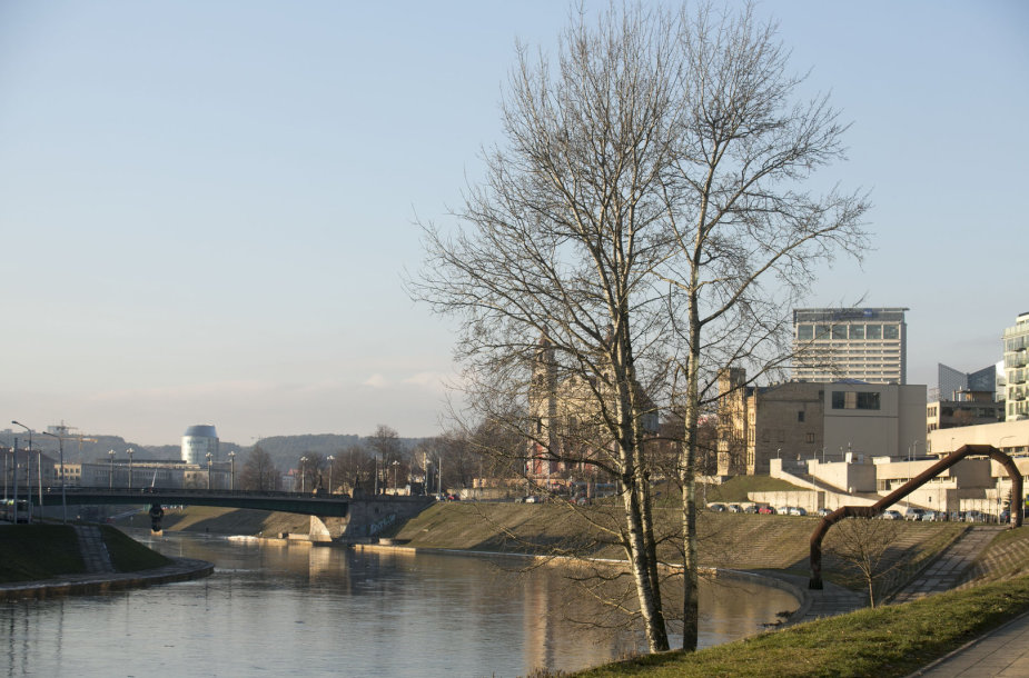 Saulėta diena Vilniuje