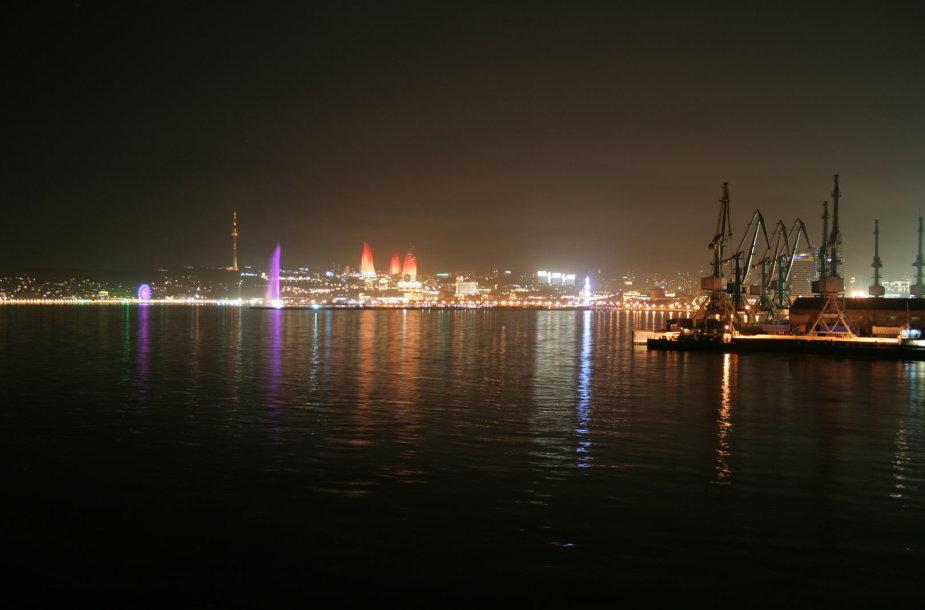 Paliekant Baku