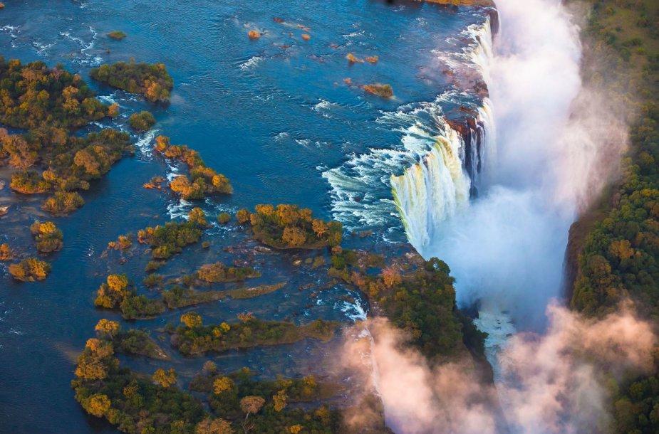 10 gražiausių ir įspūdingiausių pasaulio krioklių