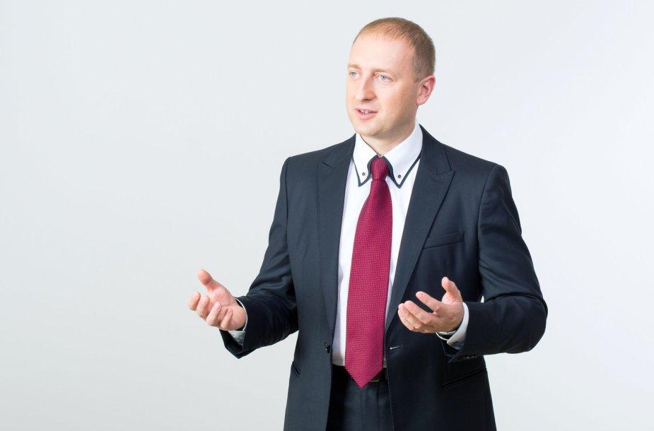 KTU ekonomistas prof. Vaidas Gaidelys