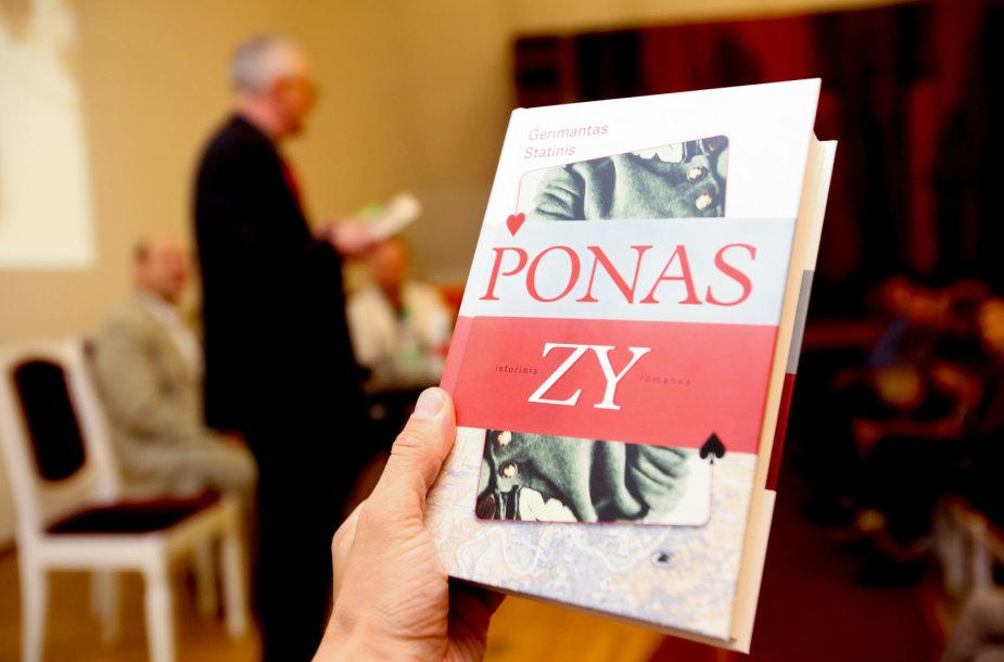 """Gerimanto Statinio knygos """"Ponas ZY""""pristatymas"""