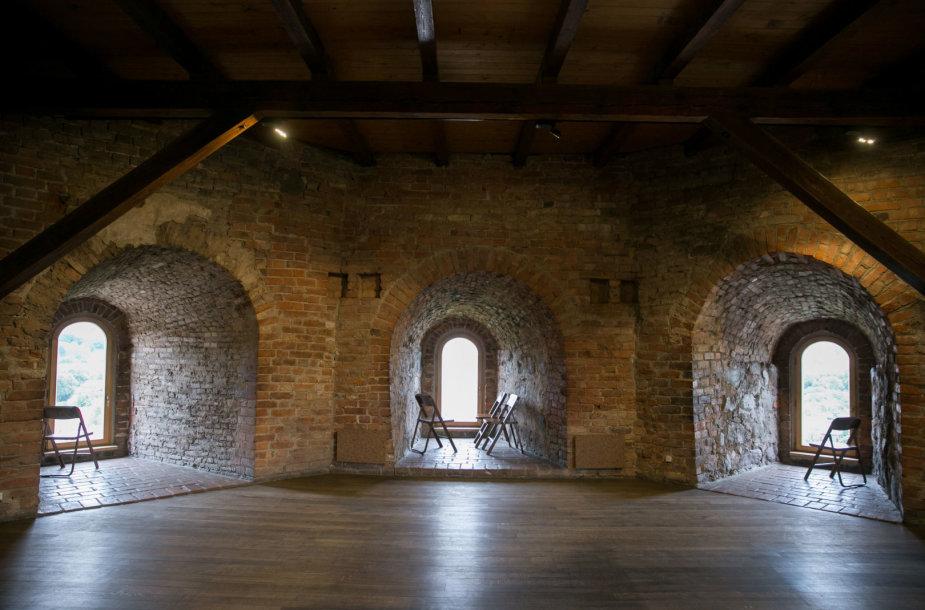 Tuščia Gedimino pilies bokšto ekspozicija