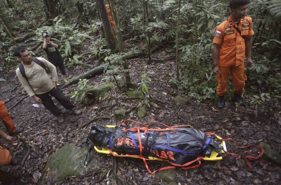 Indonezijoje ant ugnikalnio šlaito surastas žuvęs vokiečių turistas