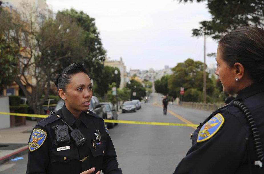San Fransiske šeimų mėgstamame parke pašauti trys žmonės