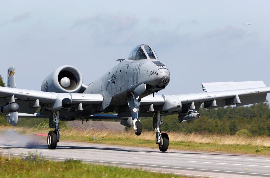 "Lėktuvas ""A-10 Thunderbolt II"""