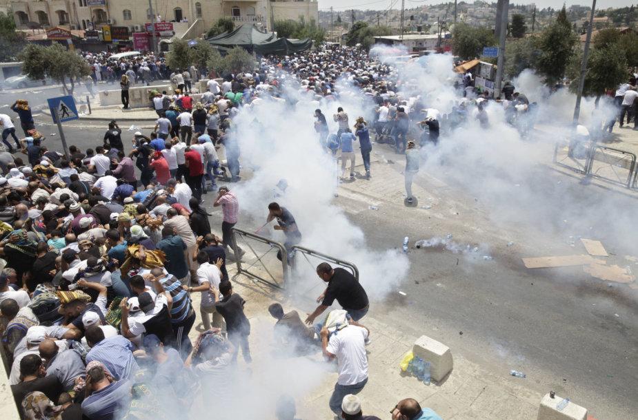 Susirėmimai Jeruzalėje