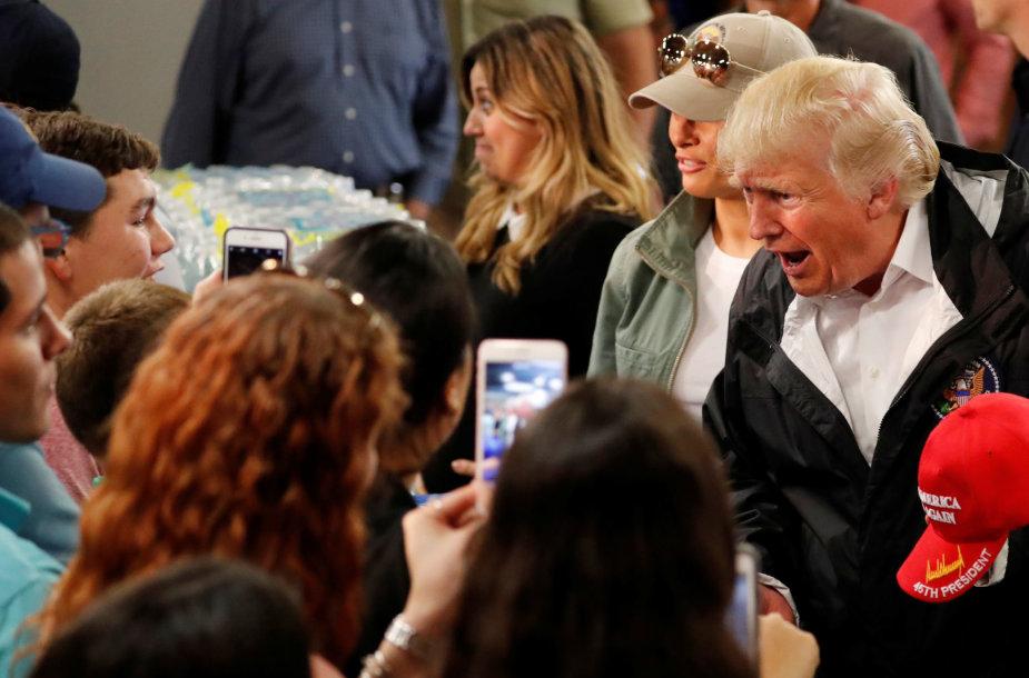 Donaldas Trumpas Puerto Rike