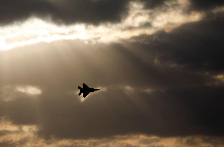 """Izraelio karinių oro pajėgų reaktyvinis naikintuvas """"Air Force F-15"""""""