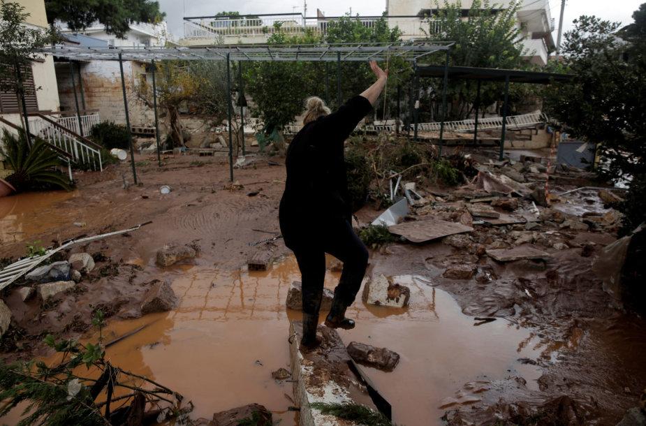 Potvynis Graikijoje