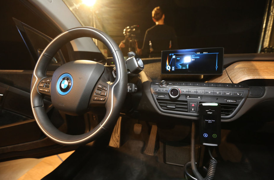 BMW i3 elektromobilis