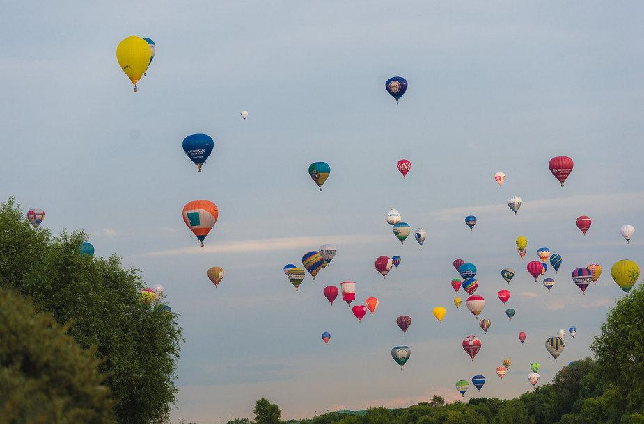 Oro balionų šventė Kaune
