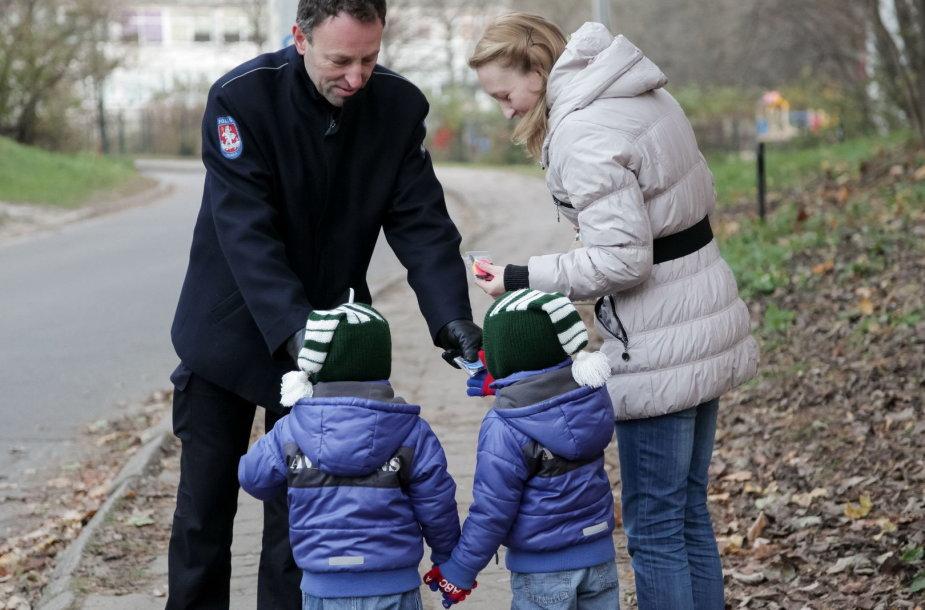Vilniuje dalinti atšvaitai