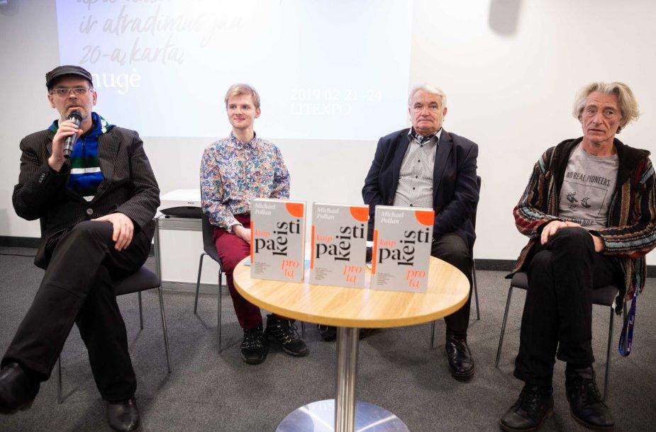 """Michaelo Pollano knygos """"Kaip pakeisti protą"""" pristatymas"""