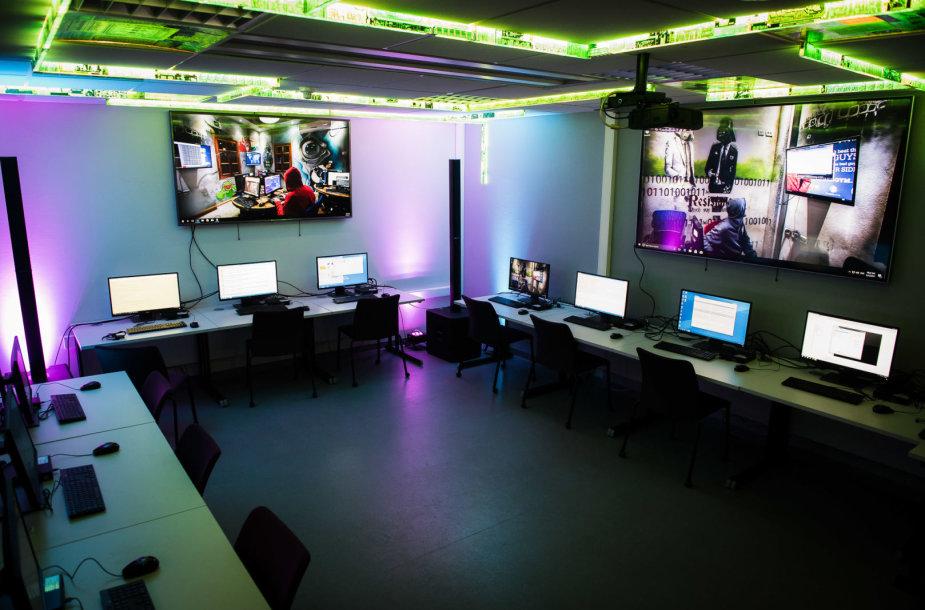 """""""CyberGym"""" mokymų arena"""