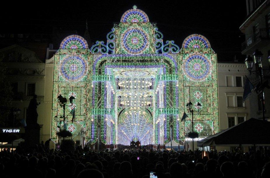 Šviesų festivalis Klaipėdoje vyks vasario 15-17 dienomis.